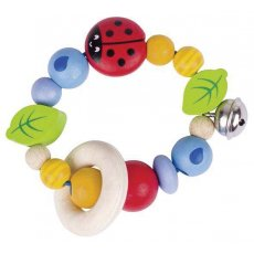 heimess ladybird rattle Waterpainted on beech wood and sycamore the Rattle Ladybird will entertain baby while you are out and about . Please Click the image for more information.