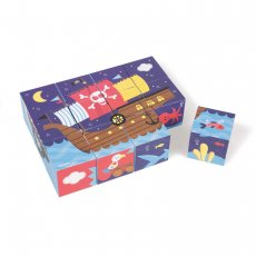 janod kubkid 12 pirate blocks Jump on board the Kubkid 12 Blocks Pirates and put together one of six swashbuckling puzzles 12 cubes made from sturdy card depict six pirate scenes including a ship a treasure chest or the pirate himself just to name a few Ha. Please Click the image for more information.