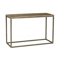 """Manhattan"" Solid Hardwood & Metal Hall Table Console This contemporary and stylish Manhattan Solid Hardwood Timber  Metal Hall Table will add the perfect touch to your home Fo. Please Click the image for more information."