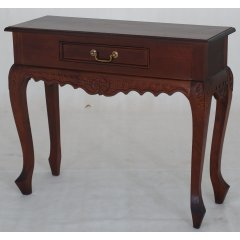 Maison 1 Drawer Carved Mahogany Timber Hall Console Table The Maison Mahogany 1 Drawer Carved Hall Table is the perfect combination of quality beautiful design and great value for money Ma. Please Click the image for more information.