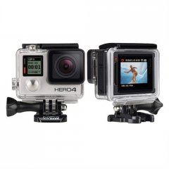 Gopro HERO4 Silver Surf Proquality capture Touchdisplay convenienceCapture your world in an allnew way with HERO4 Silver the firstever GoPro to feature a builtin touch display Controlli. Please Click the image for more information.
