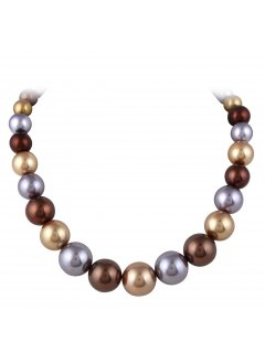 10757B MULTI COLOURED PEARL CHOKER Please Click the image for more information.