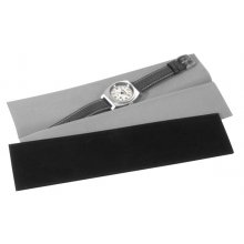 Velvet Pouch Black or grey velvet pouch We also have a half length black velvet pouch to hold bracelet banded watches. Please Click the image for more information.