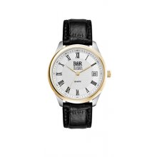 Berkley Duo Tone Duo tone polished silver with gold plated bezel alloy dress watch Male 36mm and female 28mm cases 3 hand Seiko quartz movement with single date D. Please Click the image for more information.
