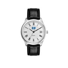 Berkley Silver Polished silver plated alloy dress watch Male 36mm and female 28mm cases 3 hand Seiko quartz movement with single date D. Please Click the image for more information.
