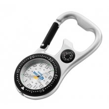 Darwin Belt watch Silver plated alloy cased belt watch with bottle opener belt clip and compass Printed white or black index dial P. Please Click the image for more information.