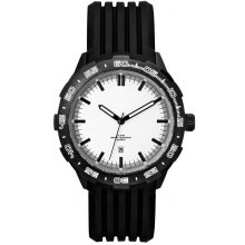 Hamersley Underground Miner - Black Case Underground Miners Watch with Citizen Automatic wind  movement with single date Glass case back for quick mine face inspection . Please Click the image for more information.