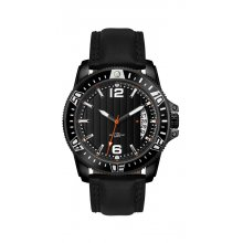 Hunter Underground Coal Miner - Black Underground Coal Miners Watch with Citizen Automatic wind  movement with single date Glass case back for quick mine face inspection . Please Click the image for more information.