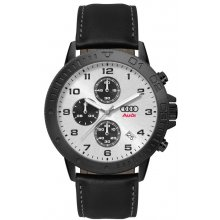 Amalfi Black Chronograph Three eye Chronograph with single date Beautifully crafted black plated solid stainless steel 5 ATM 50 meter water resistant 44mm case Ma. Please Click the image for more information.