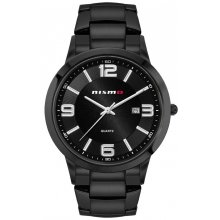 Dakota Black Bracelet Beautifully crafted black plated solid stainless steel 5 ATM 50 meter water resistant case Male 43mm and female 31mm case sizes available St. Please Click the image for more information.