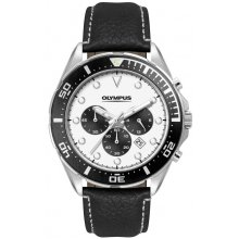 Hurrican Sports Chronograph Three eye Chronograph with single date Beautifully crafted solid stainless steel 10 ATM 100 meter water resistant 43mm case with rotating stainless steel bezel with Aluminium colours plate Wh. Please Click the image for more information.