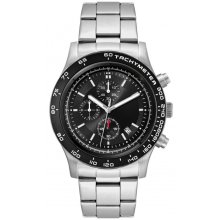Laramie Sports Chronograph Bracelet Beautifully crafted three eye Chronograph with single date in a solid stainless steel 10 ATM 100 meter water resistant 43mm case M. Please Click the image for more information.