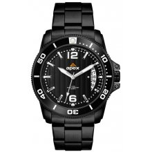 Hunter Underground Coal Miner - Black Bands Underground Coal Miners Watch with Citizen Automatic wind  movement with single date Glass case back for quick mine face inspection . Please Click the image for more information.