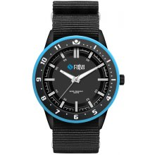 Banff Black Matt black platted alloy case with contrasting bezel Adult Unisex sized case Matt black or metallic silver printed dials Si. Please Click the image for more information.