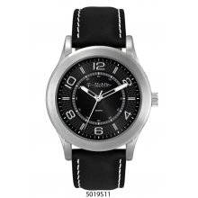 Carolina Silver plated classic dress watch with clean simple dials in matt silver or black 1 ATM 10 meter water resistant alloy 43mm case Ma. Please Click the image for more information.