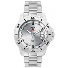 Conduit Sports Bracelet Silver platted 3 ATM 30 meter water resistant alloy case with rotating bezel in 41mm adult case size S. Please Click the image for more information.