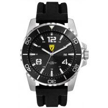 Vortex Sports watch with date function Silver platted alloy case with rotating bezel in a range of colours . Please Click the image for more information.