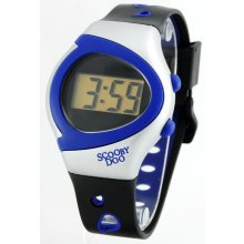 Brooklyn UniSex Five function LCD Sports Day Date Hour Minute  Second functions Plastic case and bands with contrasting trim Wide . Please Click the image for more information.