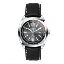 Tenerife Beautifully crafted solid stainless steel 10 ATM 100 meter water resistant 42mm case Matt black sunray blue or silver index dials with a unique sports look and feel Fi. Please Click the image for more information.