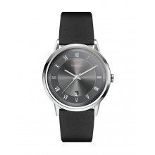 Jamieson Beautifully crafted solid stainless steel 3 ATM 30 meter water resistant 39mm case Matt black sunray blue or silver index dials Fi. Please Click the image for more information.