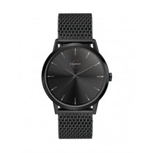 Jamieson Black Beautifully crafted black plated solid stainless steel 3 ATM 30 meter water resistant 39mm slim case . Please Click the image for more information.