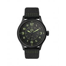 Bingara Silver or black plated alloy sports watch Citizen 2035 3 hand movement Alloy 3 ATM 30 meter water resistant 40mm case Mat. Please Click the image for more information.