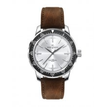Broome Silver plated alloy sports watch Citizen 2035 3 hand movement Alloy 3 ATM 30 meter water resistant 42mm case size Mat. Please Click the image for more information.