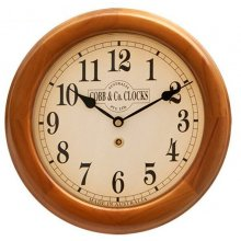 12'/300mm Wood Cased Wall Clock #0320 300mm12 round wooden cased wall clock with 3 hand movement Logo printed in 4 spot colours onto any colour dial with markings to your choice Ha. Please Click the image for more information.