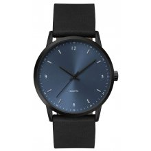 Apollo Black Matt black platted alloy cased 3ATM 30 mtr water resistant case in both male 395mm and female 305mm case sizes Three hand quartz movement Sil. Please Click the image for more information.