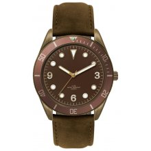 Ironwood Black Black or antique brown plated alloy sports watch in both male and female sizes Citizen 2035 3 hand movement . Please Click the image for more information.
