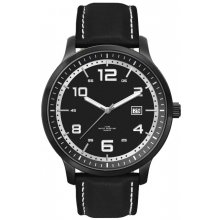 Derby Black Black platted 3 ATM 30 Mtr water resistant alloy case 3 hand date movement Bands are in silicon rubber or natural leather  Ad. Please Click the image for more information.