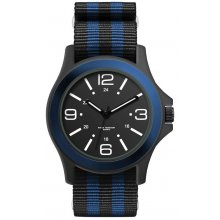 Commando Black Matt black platted 3 ATM 30 Mtr water resistant alloy case with contrasting inset bezel Adult Unisex 42mm sized case M. Please Click the image for more information.