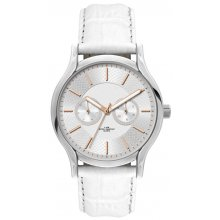 Lichfield Silver plated alloy two eye multi function day and date dress watch Alloy 3 ATM 30 meter water resistant 39mm case Si. Please Click the image for more information.