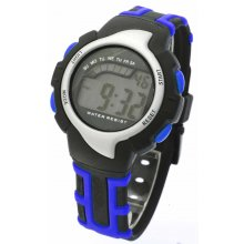 Skate Chronograph Full function LCD Chronograph Sports timerDay Date Alarm Chronograph functionsBlue backlit display Plastic c. Please Click the image for more information.