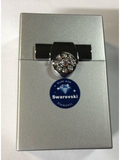 C001C SWAROVSKI CIGARETTE HOLDER AVAILABLE IN SILVER PINK RED OR BLACK Please Click the image for more information.