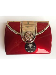 C3001B SWAROVSKI COMPACT MIRROR AVAILABLE IN RED BLACK SILVER LT PINK GOLD OR BRIGHT PINK Please Click the image for more information.