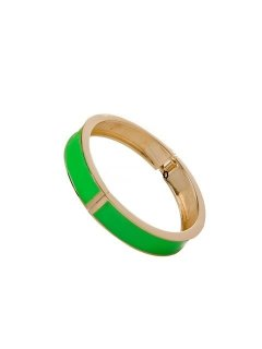 B0207 ENAMEL HINGED BANGLES IN VARIOUS COLOURS Please Click the image for more information.