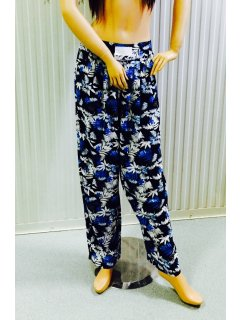 K027A BLACK  BLUE RAYON PANTS3PCE PACK  1 X SML Please Click the image for more information.