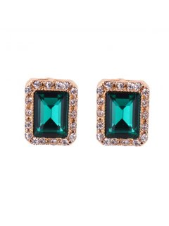 E0644G GOLDGREEN CLIP ON EARRINGS Please Click the image for more information.