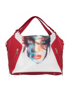 H0722A GYPSY MAE  GEMMA DOUBLE ZIP HANDBAG Please Click the image for more information.