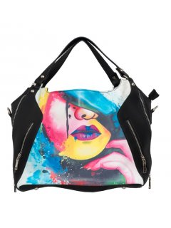 H0722B GYPSY MAE  KOURTNEY DOUBLE ZIP HANDBAG Please Click the image for more information.