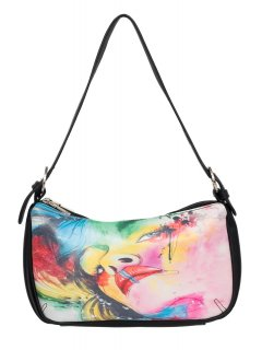 H0723D GYPSY MAE  LANA SLOUCH BAGDOUBLE ZIP COMPARTMENT Please Click the image for more information.