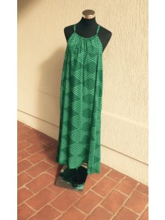 K064C GREEN MAXI DRESS Please Click the image for more information.