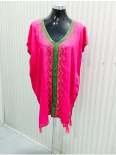 K079 PINK TOP WITH MIDDLE EMBROIDERY FEATUREPACK OF 3  MLXL Please Click the image for more information.