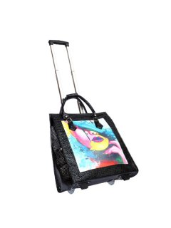 L35B OVERNIGHT  BAG  KOURTNEY RANGEHAS COMPARTMENT FOR IPAD LAPTOP ETC ZIPPERED SECTIONS AND ENOUGH ROOM FOR A FEW DAYS CLOTHES  Please Click the image for more information.