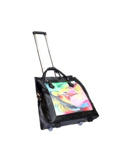 L35C OVERNIGHT BAG  LANA RANGE HAS A COMPARTMENT FOR LAPTOP OR IPAD ETC ZIPPERED SECTIONS AND ENOUGH ROOM FOR A FEW DAYS CLOTHES Please Click the image for more information.