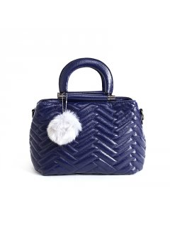 H0759B BLUE PUFF HANDBAG Please Click the image for more information.