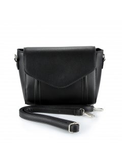 H0802 LADIES BLACK BAG WITH STRAP Please Click the image for more information.