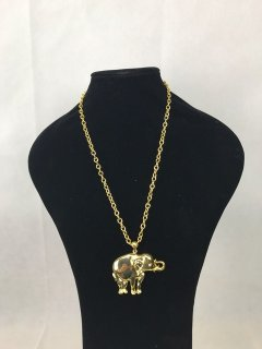 100211 GOLD GOLD ELEPHANT NECKLACE Please Click the image for more information.
