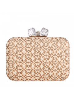 H0831A CREAM LACE EVENING BAG Please Click the image for more information.